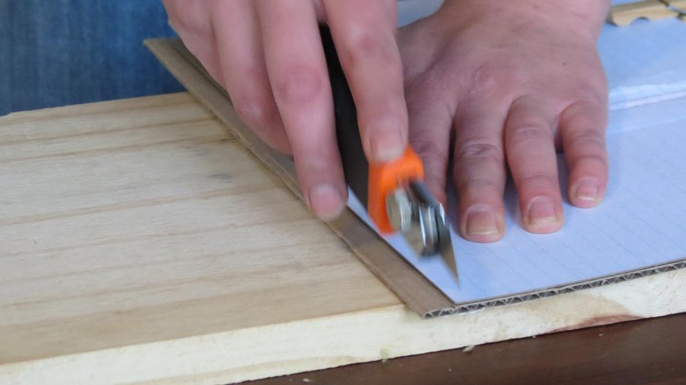 Cut reinforcement panels to size