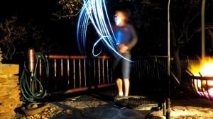Light swinging