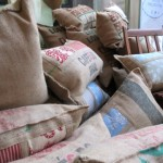 Coffee been bag scatter pillows - Thesna