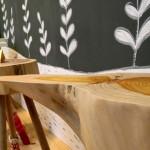 Elsbeth Eksteen - wooden tables