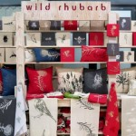 The Wild Rhubarb stall, it packs a visual punch