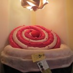 Cupcake poufe chair with space to hide toys in - Nomble