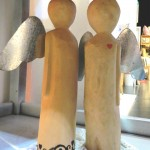 Wooden angels - Anchami Art