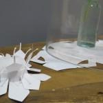 Tea light wrapper - Love Detail