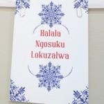 Sweetheart letterpress - Merry Christmas