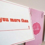 Sweetheart letterpress - bespoke greeting cards for any occasion