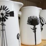 RSA inspired ceramics from Tamarillo Ceramics