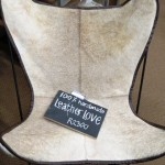 Leather love chair - I Feel