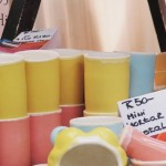 An array of happy ice-cream colours at Red Hill Pottery