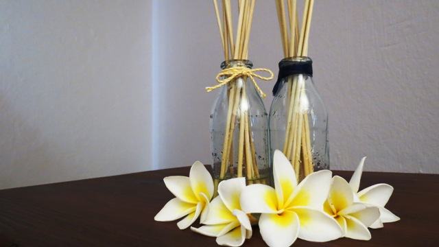 Homemade reed diffusers