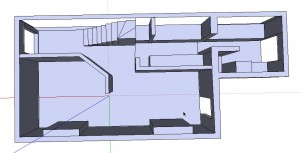 Raising the model up from a floor plan