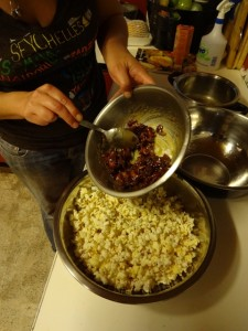 Bacon and Maple Syrup gourmet popcorn