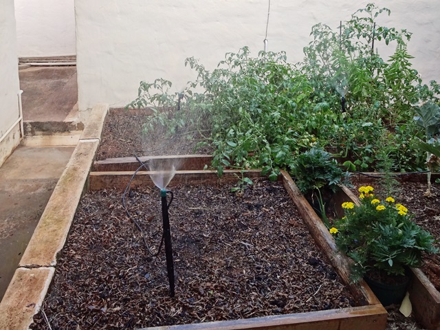 Completed irrigation system