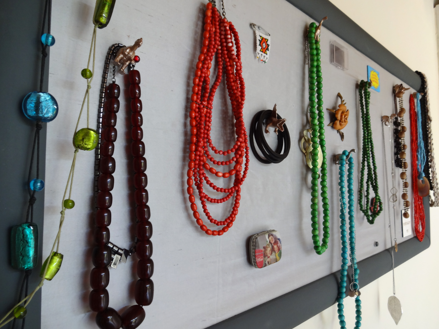 The Magnetic Jewellery Display - Done and Dusted