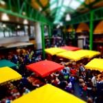 The colourful Borough market