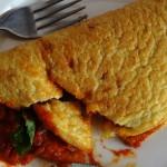 Yummy fluffy omelette